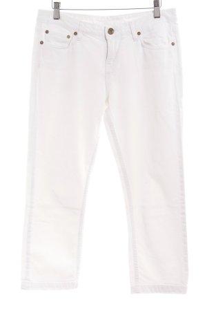 Tommy Hilfiger 3/4 Jeans weiß 90ies-Stil