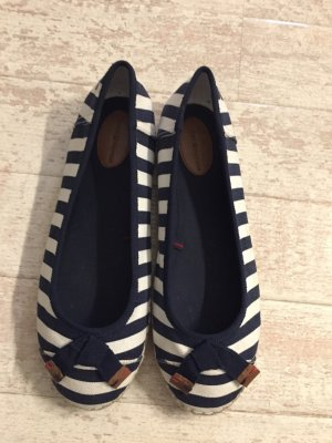 Tommy Hilfiger Mary Jane Ballerinas dark blue-white
