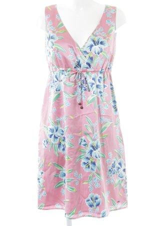 Tommy Hilfiger A-Linien Kleid Blumenmuster Romantik-Look
