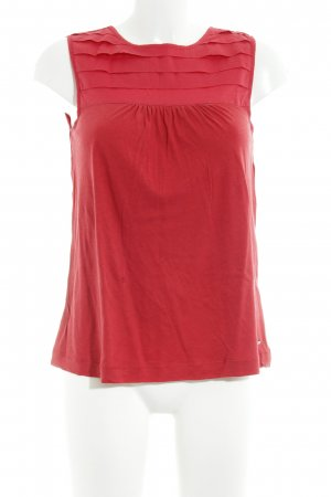 Tommy Hilfiger Top linea A rosso stile casual