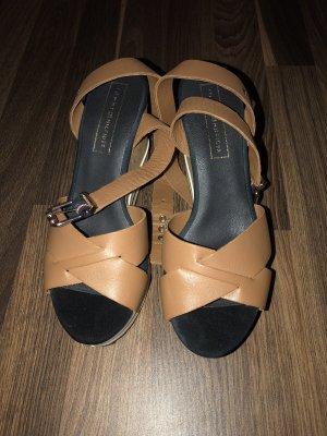Tommy Hilfiger Platform Sandals brown