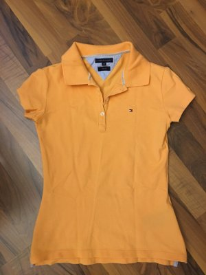 Tommy Hilfiger Top Polo orange clair