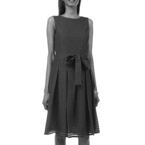 TOMMY HILFIGER Abendkleid schwarz Elegant Damen Gr. DE 36 S Kleid Dress