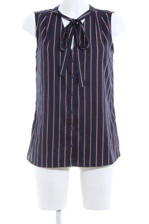 Tommy Hilfiger Blusa sin mangas estampado a rayas estilo «business»