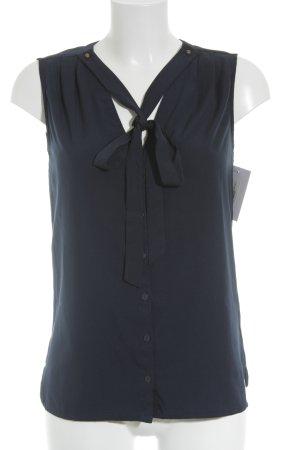 Tommy Hilfiger ärmellose Bluse dunkelblau Elegant