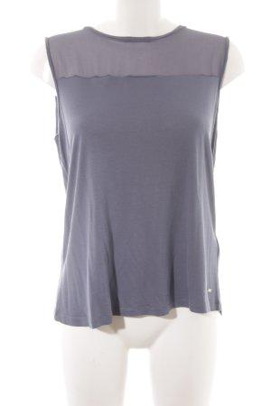 Tommy Hilfiger ärmellose Bluse graublau Elegant