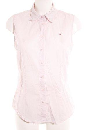 Tommy Hilfiger Blusa senza maniche rosa chiaro stile casual
