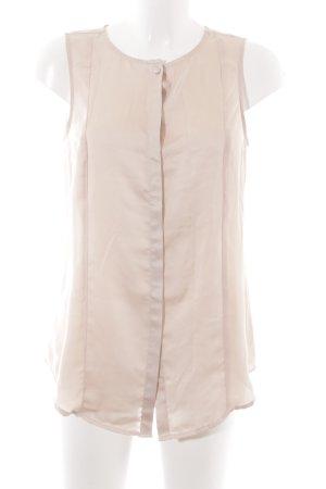 Tommy Hilfiger Mouwloze blouse nude elegant
