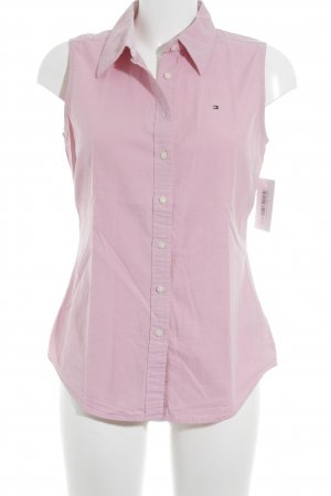 Tommy Hilfiger ärmellose Bluse rosa Business-Look