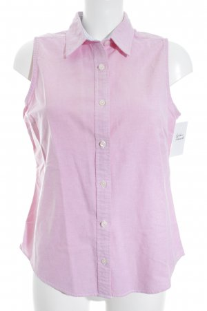 Tommy Hilfiger ärmellose Bluse rosé Casual-Look