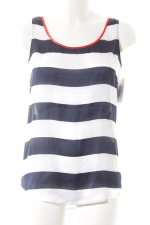 Tommy Hilfiger Sleeveless Blouse striped pattern elegant