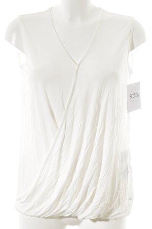 Tommy Hilfiger Blusa senza maniche bianco stile casual