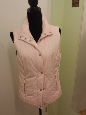 Tommy Hilfiger Down Vest pink mixture fibre
