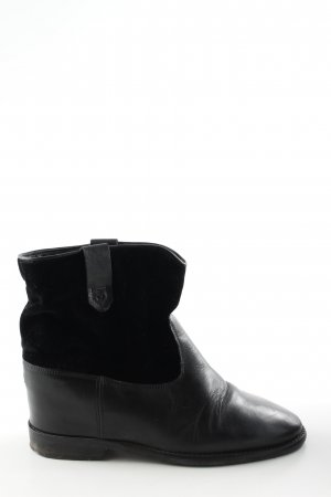 Tommy Hilfiger Ankle Boots schwarz Business-Look