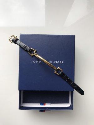 Tommy Hilfiger Armband / gold / Leder