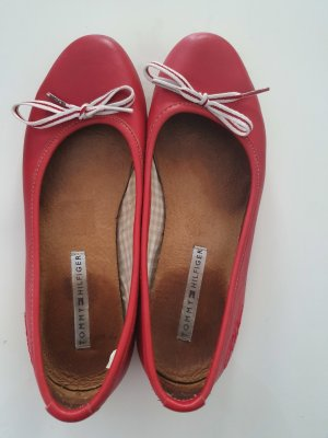 Tommy Hilfiger Ballerines Mary Jane rouge