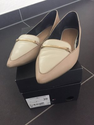 Tommy Hilfiger Ballerinas with Toecap cream-oatmeal