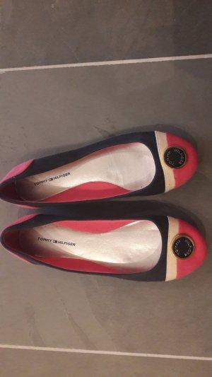 Tommy Hilfiger Ballerina - pink navy blau