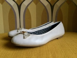 Tommy Hilfiger Ballerina Mary Jane bianco