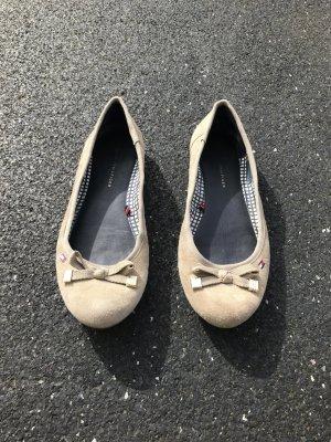 Tommy Hilfiger Ballerinas in beige in 36