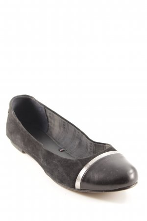 Tommy Hilfiger Ballerinas with Toecap black casual look