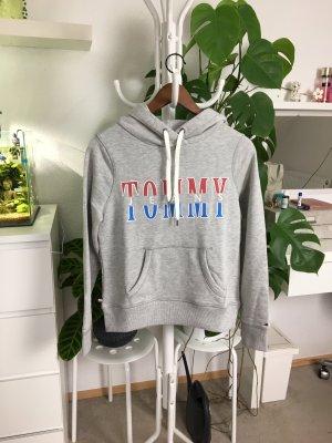 Tommy Jeans Pull à capuche multicolore coton