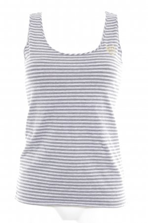 Tommy Hilfiger Basic Top hellgrau-grau meliert Casual-Look