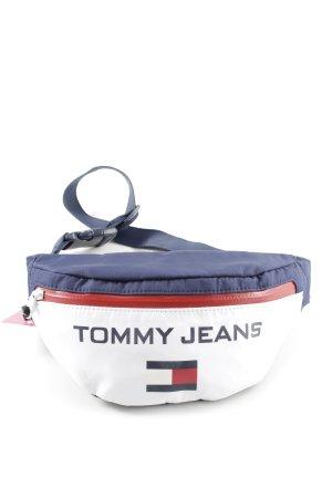 Tommy Hilfiger Bauchtasche dunkelblau-weiß Casual-Look
