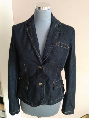 Tommy Hilfiger Denim Blazer blue-dark blue cotton