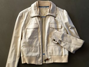 Tommy Hilfiger Bomber Jacket beige-cream cotton