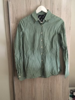 Tommy Hilfiger Long Sleeve Blouse white-green