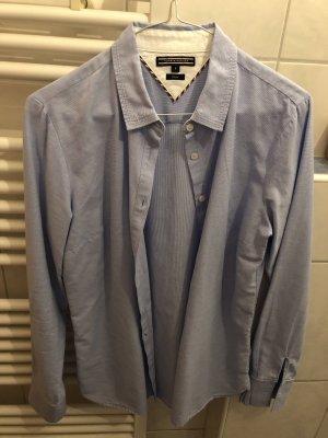 Tommy Hilfiger Bluse blau Muster Gr. 8