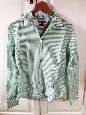 Tommy Hilfiger Blusa de manga larga blanco-verde