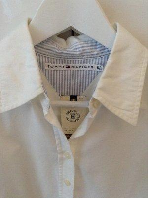 Tommy Hilfiger Bluse Hemd Basic Gr. S weiß NEU!