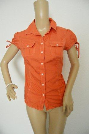 Tommy Hilfiger Bluse Hemd gr.XS Korallenrot