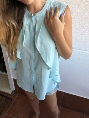 Tommy Hilfiger Blusa de manga corta azul bebé