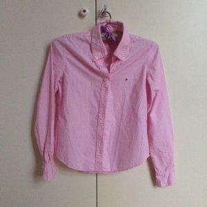 Tommy Hilfiger Bluse in rosa kariert