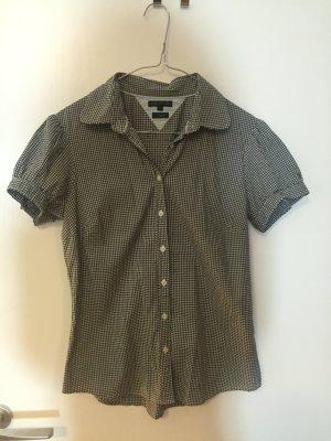 Tommy Hilfiger Blusa de manga corta negro-blanco
