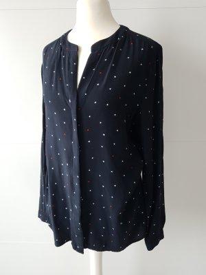 Tommy HILFIGER Bluse/Shirt, Gr.4/34, dunkelblau