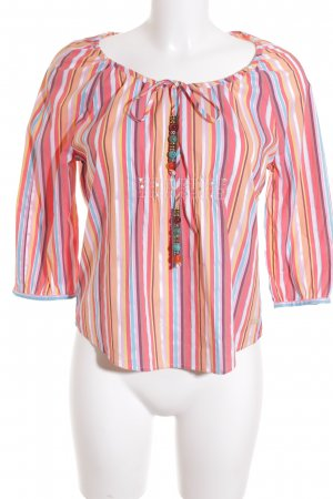 Tommy Hilfiger Bluse Streifenmuster Casual-Look