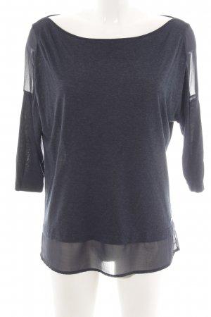 Tommy Hilfiger Dickey (for blouse) blue weave pattern casual look