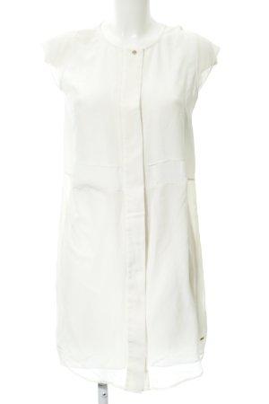 Tommy Hilfiger Blusenkleid creme-weiß Beach-Look