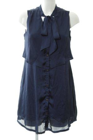Tommy Hilfiger Blusenkleid dunkelblau Elegant