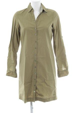 Tommy Hilfiger Blusenkleid olivgrün Safari-Look