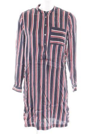Tommy Hilfiger Blusenkleid Streifenmuster Casual-Look