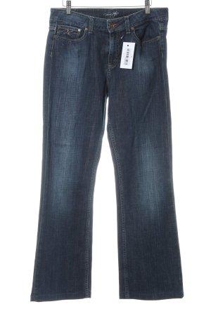 Tommy Hilfiger Jeans bootcut bleu foncé-chameau style décontracté