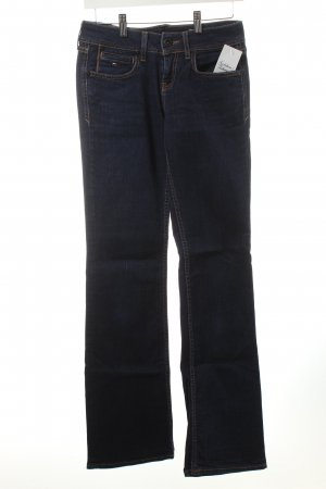 Tommy Hilfiger Boot Cut Jeans dunkelblau Casual-Look