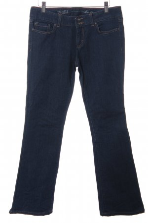 Tommy Hilfiger Boot Cut Jeans dunkelblau-graublau Casual-Look