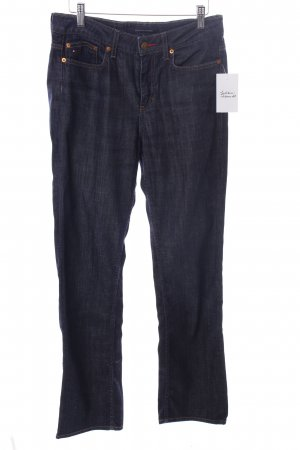 Tommy Hilfiger Boot Cut Jeans dunkelblau Jeans-Optik