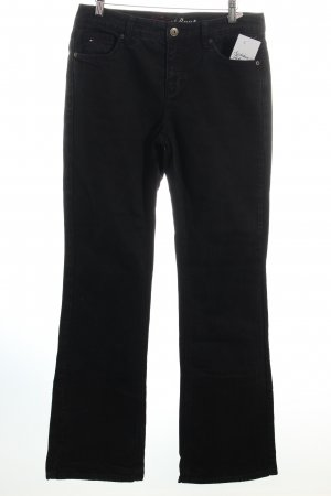 Tommy Hilfiger Boot Cut Jeans schwarz Casual-Look